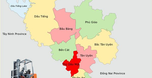 bản đồ huyện bến cát tỉnh bình dương